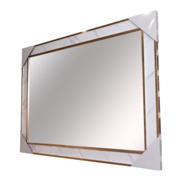 CERMIN DINDING 05 60X90 CM - GOLD MARBLE_2
