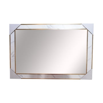 CERMIN DINDING 05 60X90 CM - GOLD MARBLE_1
