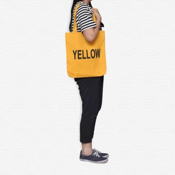 ATARU TOTE BAG WORDS - KUNING_2
