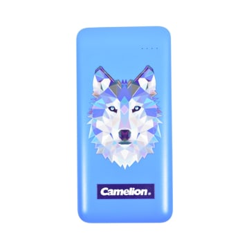 CAMELION POWER BANK 3D PRINTED WOLF 8000 MAH_2