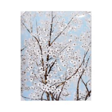 HIASAN DINDING FLOWERS I77 90X120X3.5 CM_1
