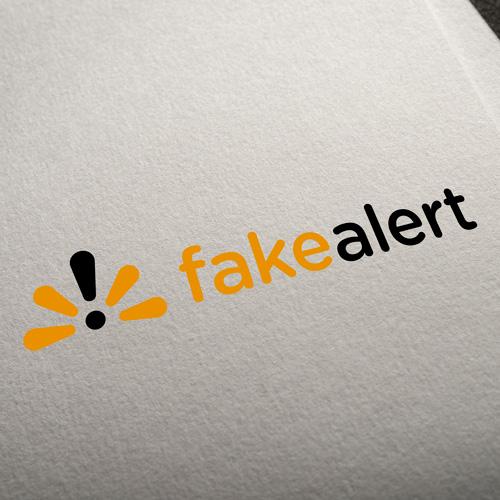 Fake Alert Logo