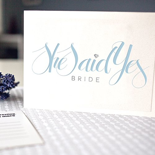 She Said Yes Logo
