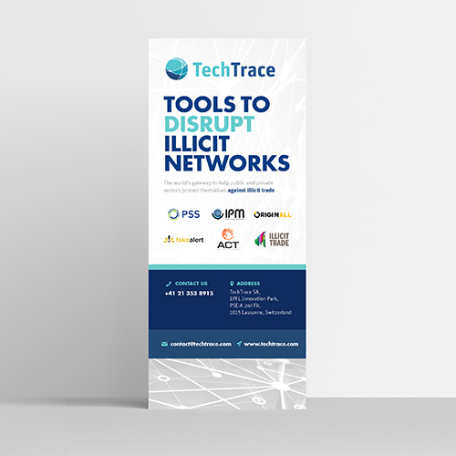 TechTrace Roll Up Banner
