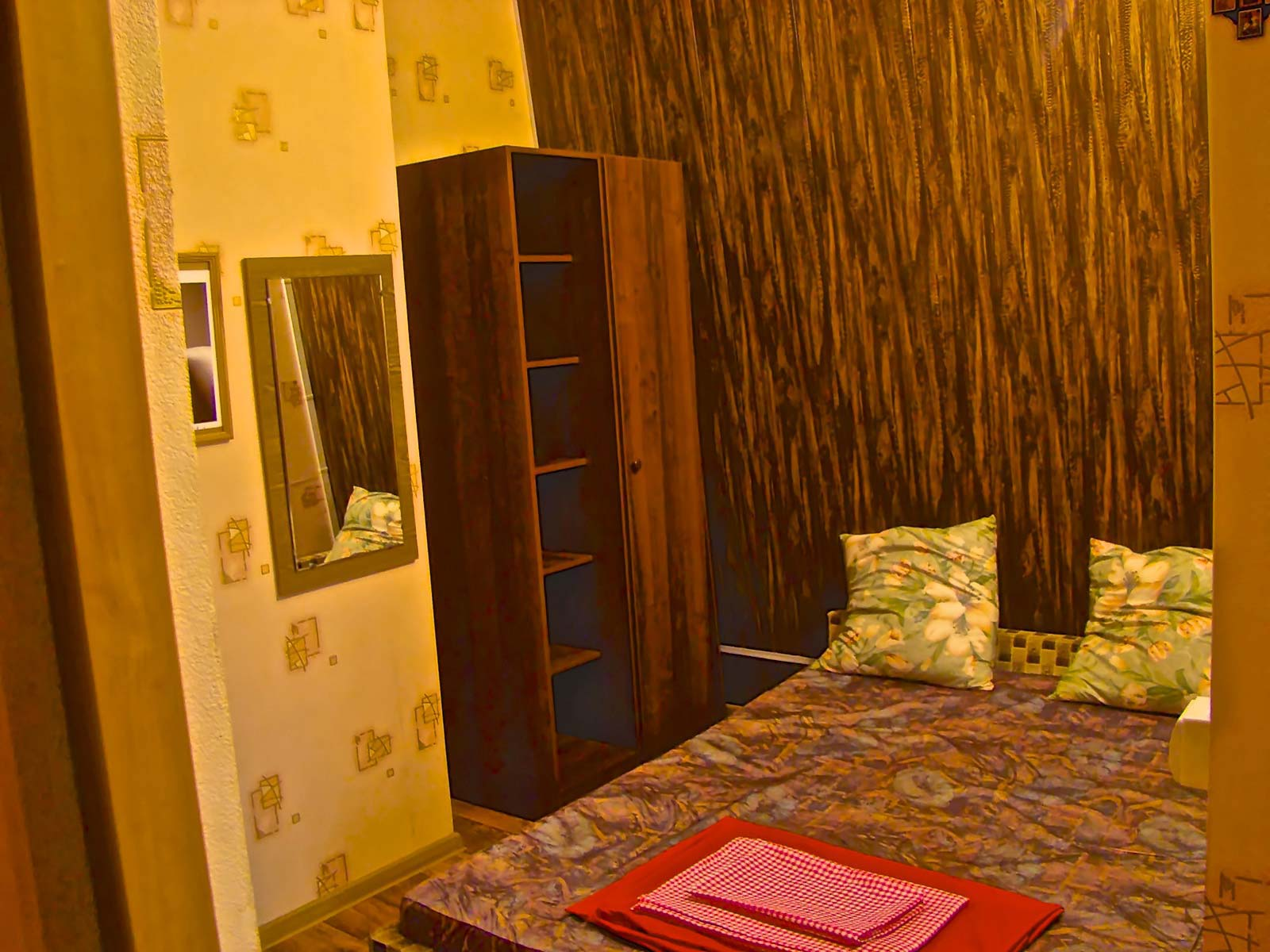 "Bedroom at ""Persik"""