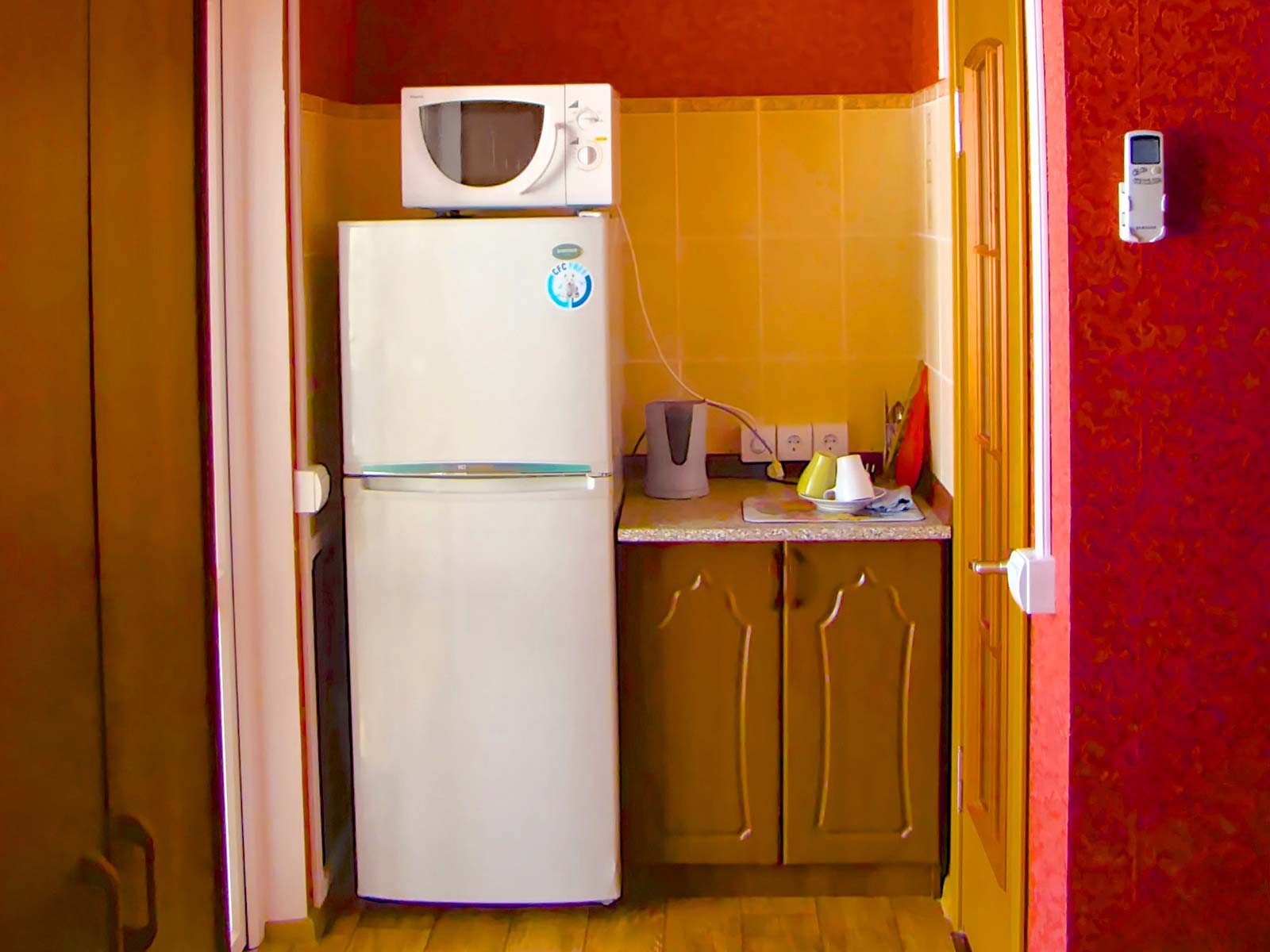 "Appliances at ""Bordo"""