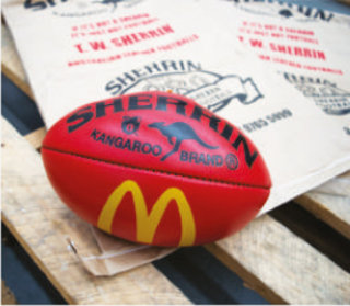 Sponsored Football