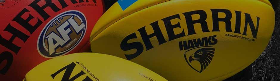 Sherrin football size guide