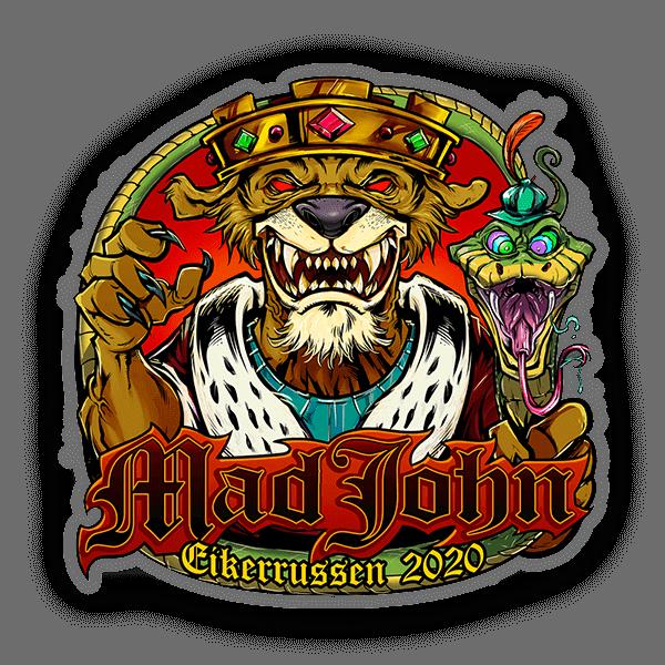 Bildet av Mad John 2020 logoen - Klistremerker fra Russemerket