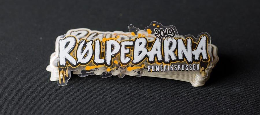 Bildet av Rølpebarna 2019 logoen - Klistremerker fra Russemerket