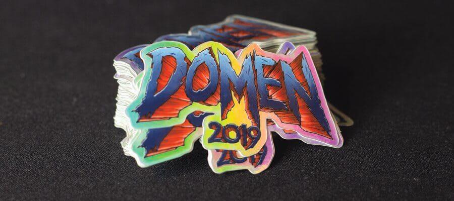 Bildet av Lucidity 2019 logoen - Klistremerker fra Russemerket