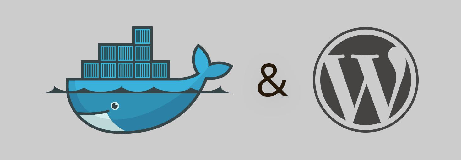 Docker & Wordpress Logos