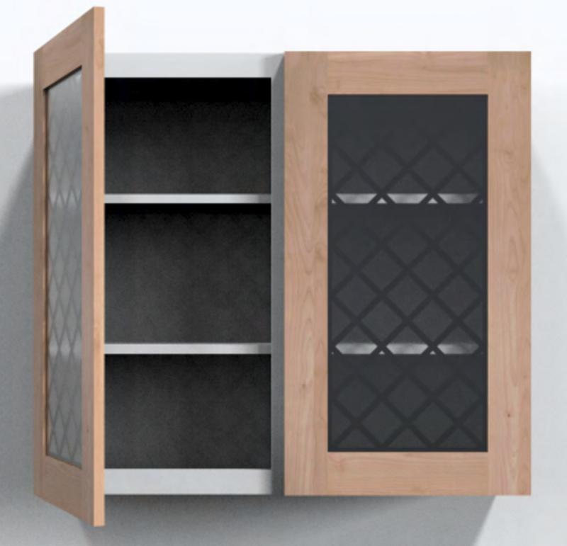 Chateaux Cabinet Door