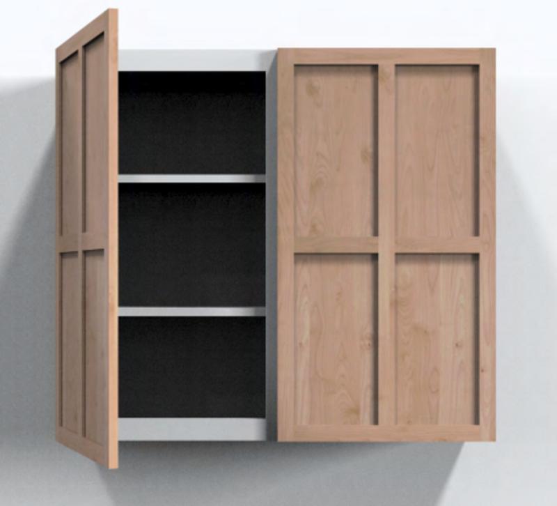 Mountain Cabinet Door