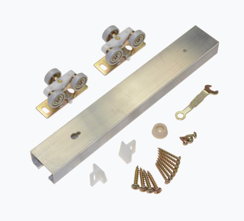 Single Pocket Door Hardware Kit