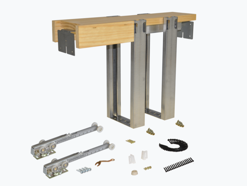 2 X 4 Wall Pocket Door Frame Kit With Soft Close