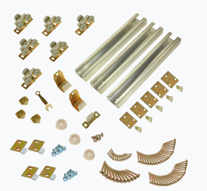 Pocket Door Hardware Kit Tri-pass