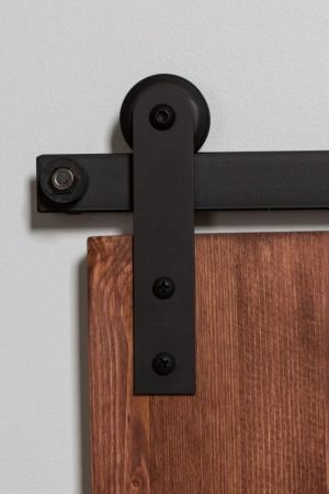 202 Straight Cabinet Barn Door Hardware