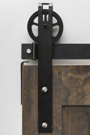 Garrick Spoked Barn Door Hardware