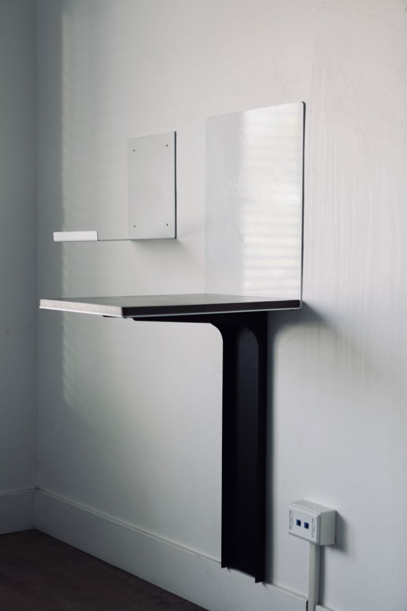 Picture of: Finisher Wall Mounted Desk Rustica
