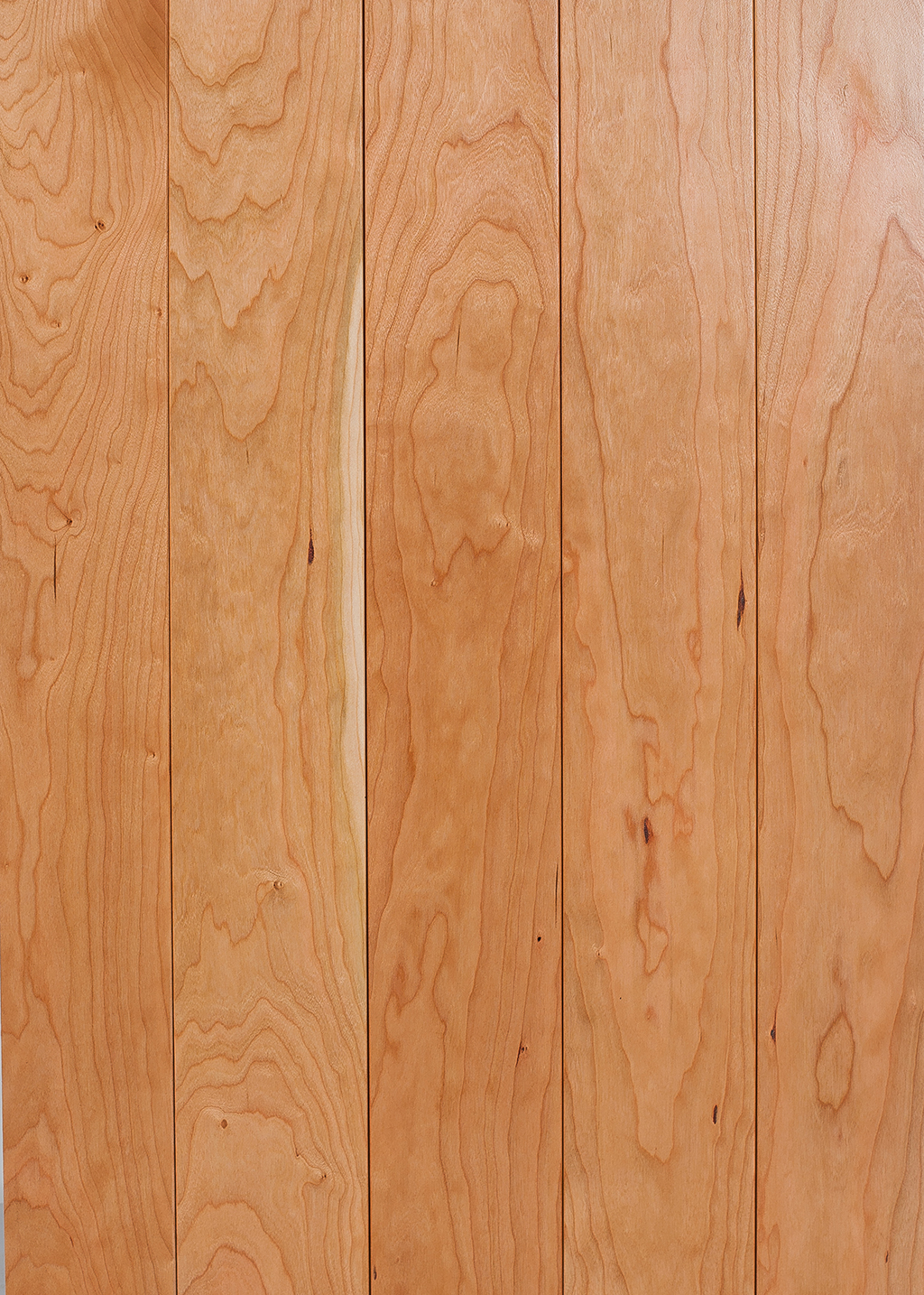 sample piece of cherry wood