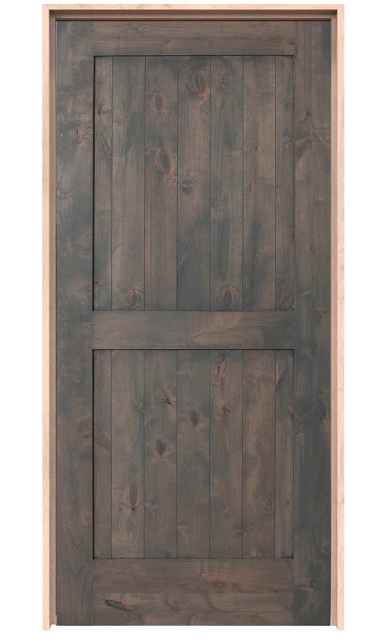 2 Panel Barn Door Hinged 2 Panel Barn Doors Rustica