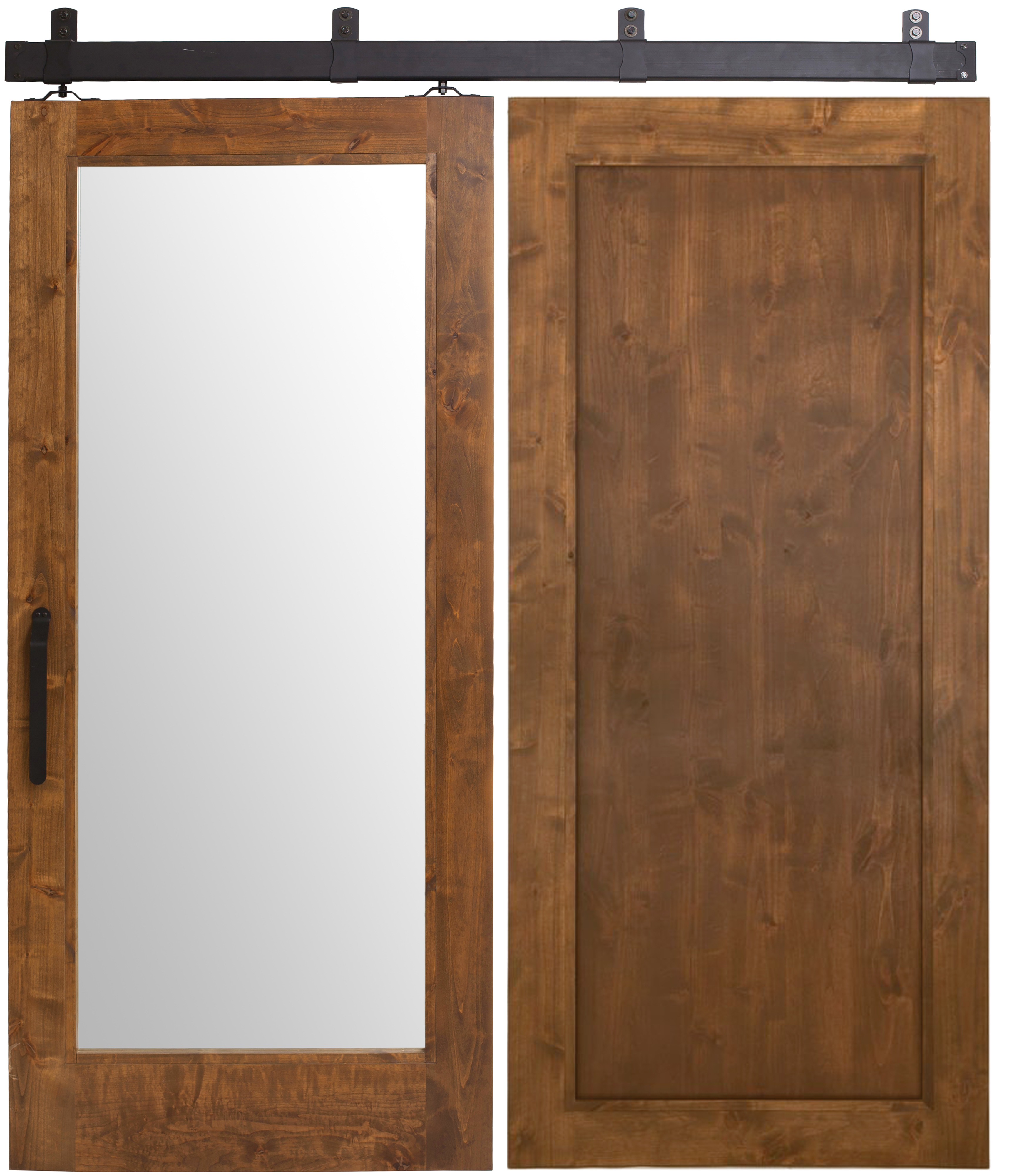 Mirror Barn Door  Rustica
