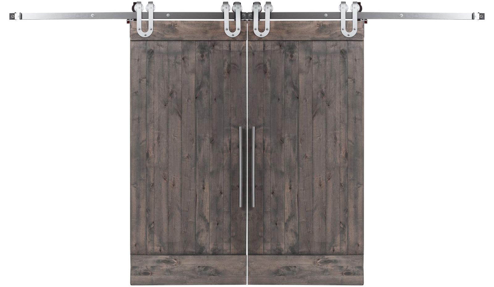 True Double Barn Door Rustica