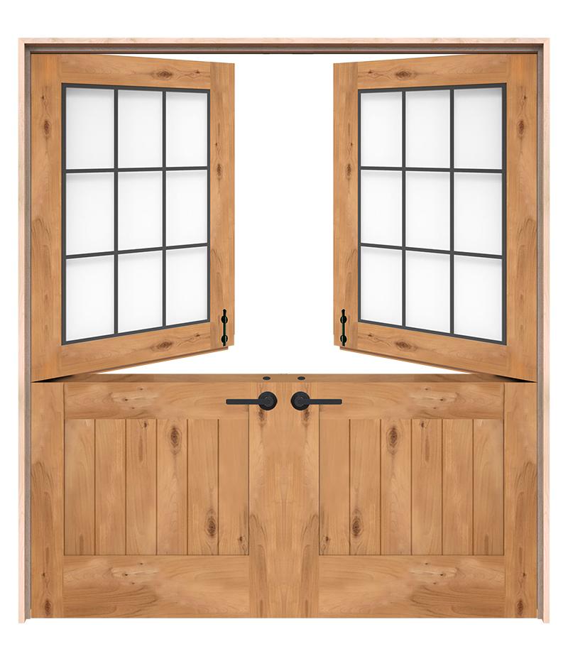 Farmhouse Double Dutch Doors Rustica