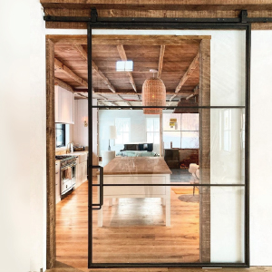 Glass Sliding Barn Doors