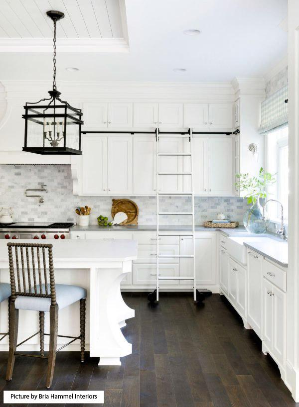 Bria Hammel Interiors kitchen ladder
