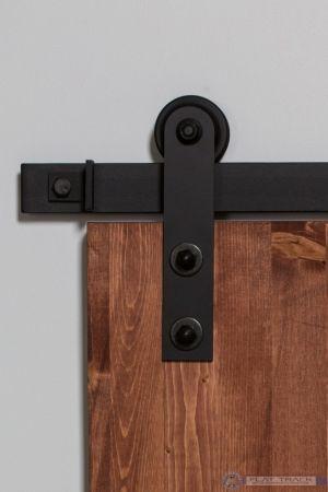 302 Straight Mini Barn Door Hardware