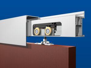 Soft Close CCS2993-200 Sidewall Mount with Fascia Kit