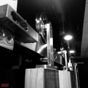 CFT 201 Stainless Steel Slide Door Hardware Kit
