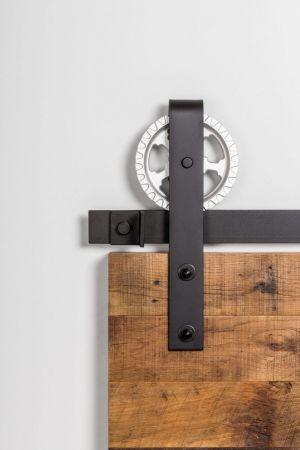 402S Gear Head Barn Door Hardware