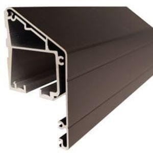 Cavilock 500 Dark Bronze Sidewall Sliding Door Hardware Kit