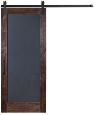 Chalkboard Full Panel Barn Door