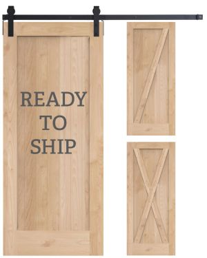 Ready to Ship 3 in 1 Barn Door Kit