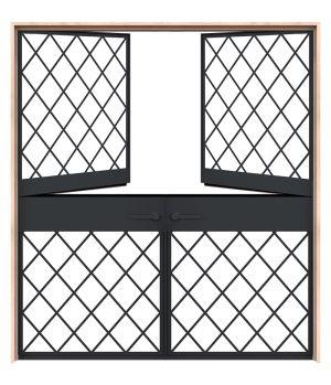 Vine Double Dutch Doors