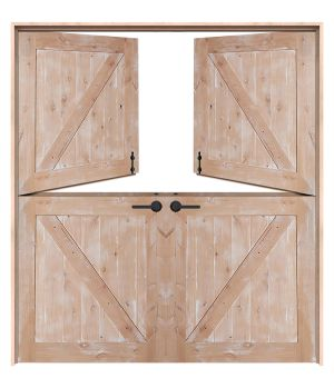 Classic Double Dutch Doors