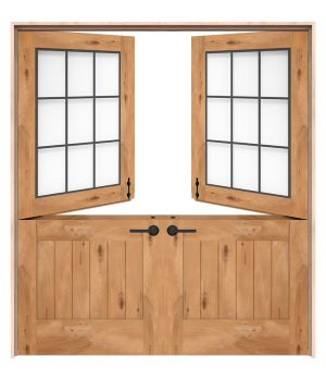 Farmhouse Double Dutch Doors