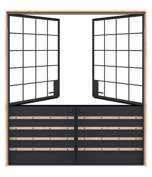 Port Double Dutch Doors