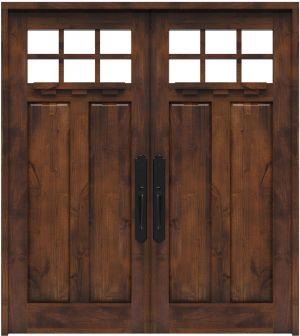 Apprentice Double Front Door With Shelf