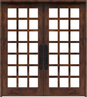 Alpine Double Front Door