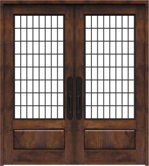 Grindstone Double Front Door