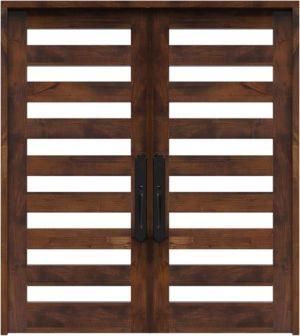 Highland Double Front Door