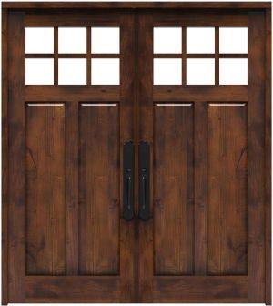 Maple Dale Double Front Door