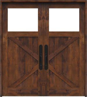 Shoemaker Double Front Door