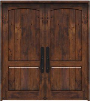 Pump House Double Front Door