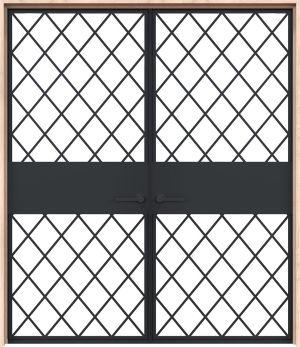 Cobbler Interior Double Door